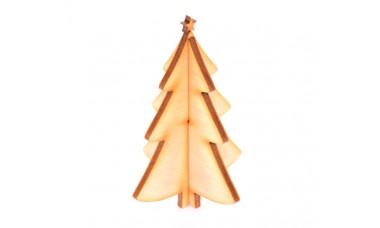 Dekoracja świąteczna: Choinka składana 3D