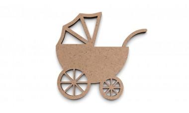 Dekor 3D: Wózek dziecięcy