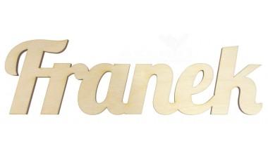 Napis 3D na pudełko: imię