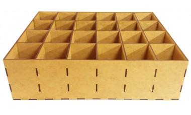 Organizer na skarpetki lub przybory biurowe 360x300x100 [mm] 24 przegródki