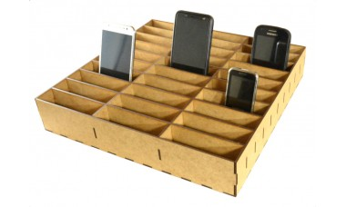 Organizer do szuflady 342x333x63 [mm] 30 przegródek