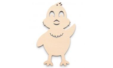 Zawieszka - Kurczaczek wielkanocny do ozdabiania