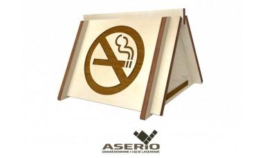 Znaczek na stół Zakaz Palenia do restauracji, hotelu
