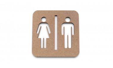Znaczek: Toaleta, WC