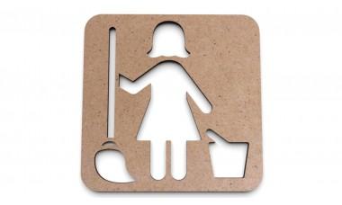 Znaczek na ścianę lub drzwi: Magazyn, Pomieszczenie gospodarcze