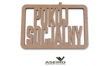 Znaczek na ścianę lub drzwi: Pokój socjalny